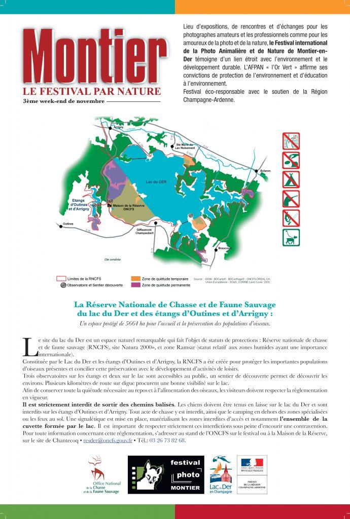 La Réserve Nationale de Chasse et de Faune Sauvage du lac du Der et des étangs d'Outines et d'Arrigny