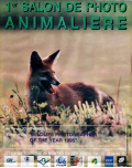 Affiche du Festival International de la Photo Animalière et de Nature de Montier-en-Der 1996