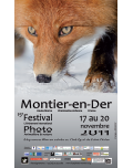 Affiche du Festival International de la Photo Animalière et de Nature de Montier-en-Der 2011