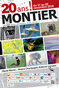 Affiche du Festival International de la Photo Animalière et de Nature de Montier-en-Der 2016