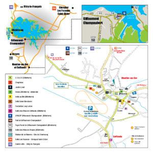 Plan du Festival International de la Photo Animalière et de Nature
