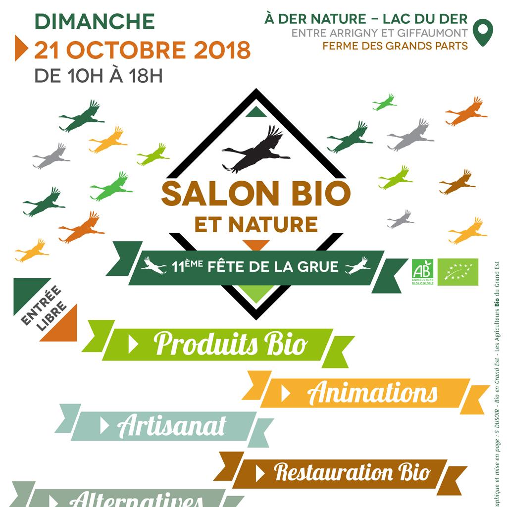 Salon Bio et Nature près du Lac du Der