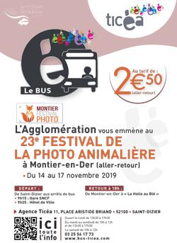 Ticéa Affiche festival bus
