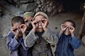 Les enfants photographes - REZA / Webistan