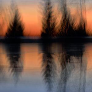 Au bord du lac - Cathy Bernot