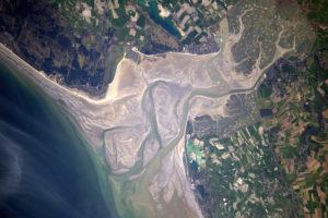 Baie de la Somme - Thomas Pesquet/ESA/NASA