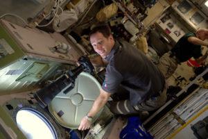 Thomas Pesquet à bord de l'ISS - ESA/NASA