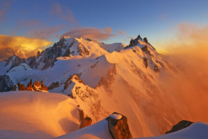 Mont-Blanc au couchant - 0
