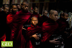 Monastère Mahagandayon, Amarapura, Myanmar - ©Thierry Suzan