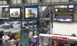 Expo Bâche Gare de l'Est / Paris - Afpan - Jean-Marc COURTIER