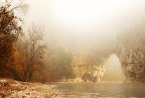 Le Pont d'Arc en novembre - Simon Bugnon