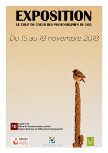 l'affiche de l'expositio à Giffaumont stade nautique - Lionel bouillon fotaniflo