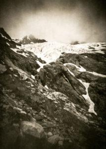 Glacier blanc, massif des Écrins, Hautes Alpes - David Tatin