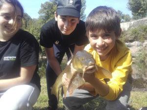 Pêche en jeunesse - FDAAPPMA12