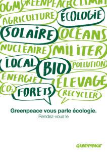 Greenpeace vous parle - GREENPEACE