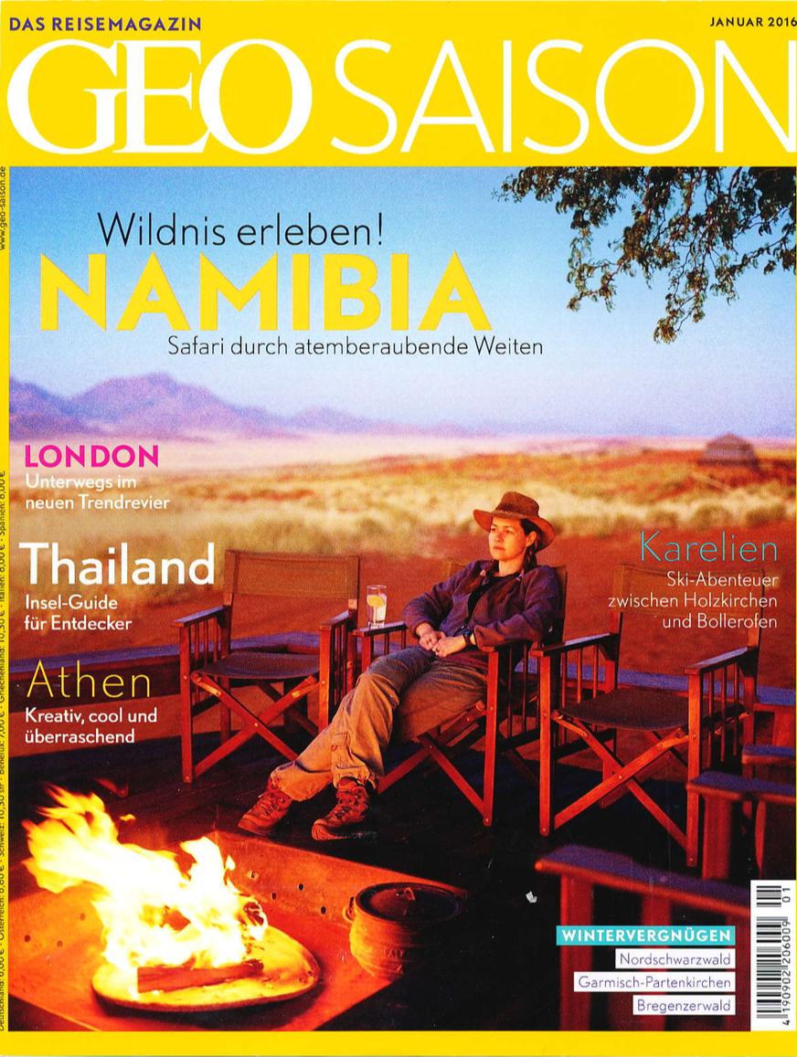 GEO Saison Magazine (Germany)-Janv 2016