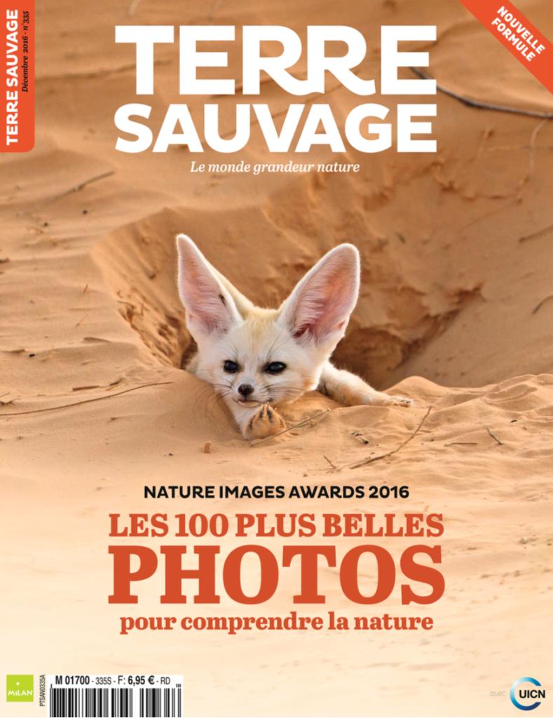 Terre Sauvage (France), Milan Presse-Dec 2016