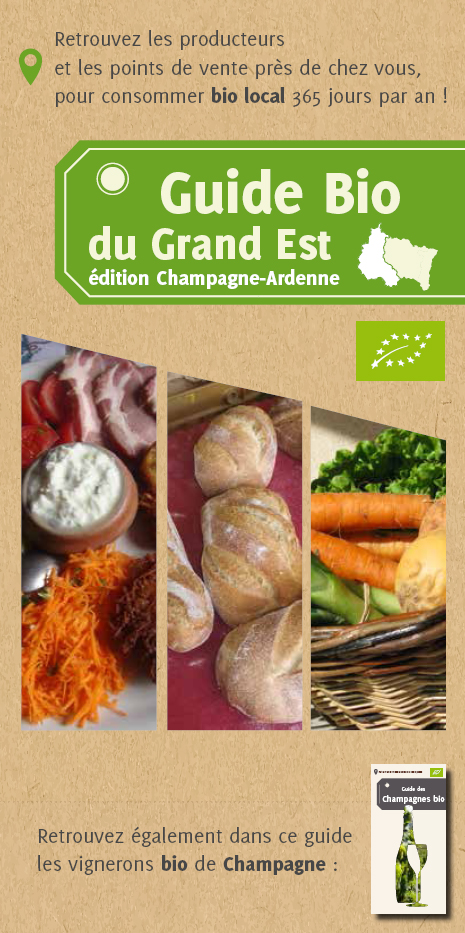 Guide de la Bio Grand Est - Territoire Champagne-Ardenne