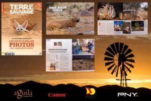 Terre Sauvage Magazine - Karoo Predator Project