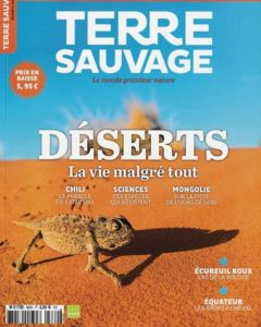 Terre sauvage Octobre 2019