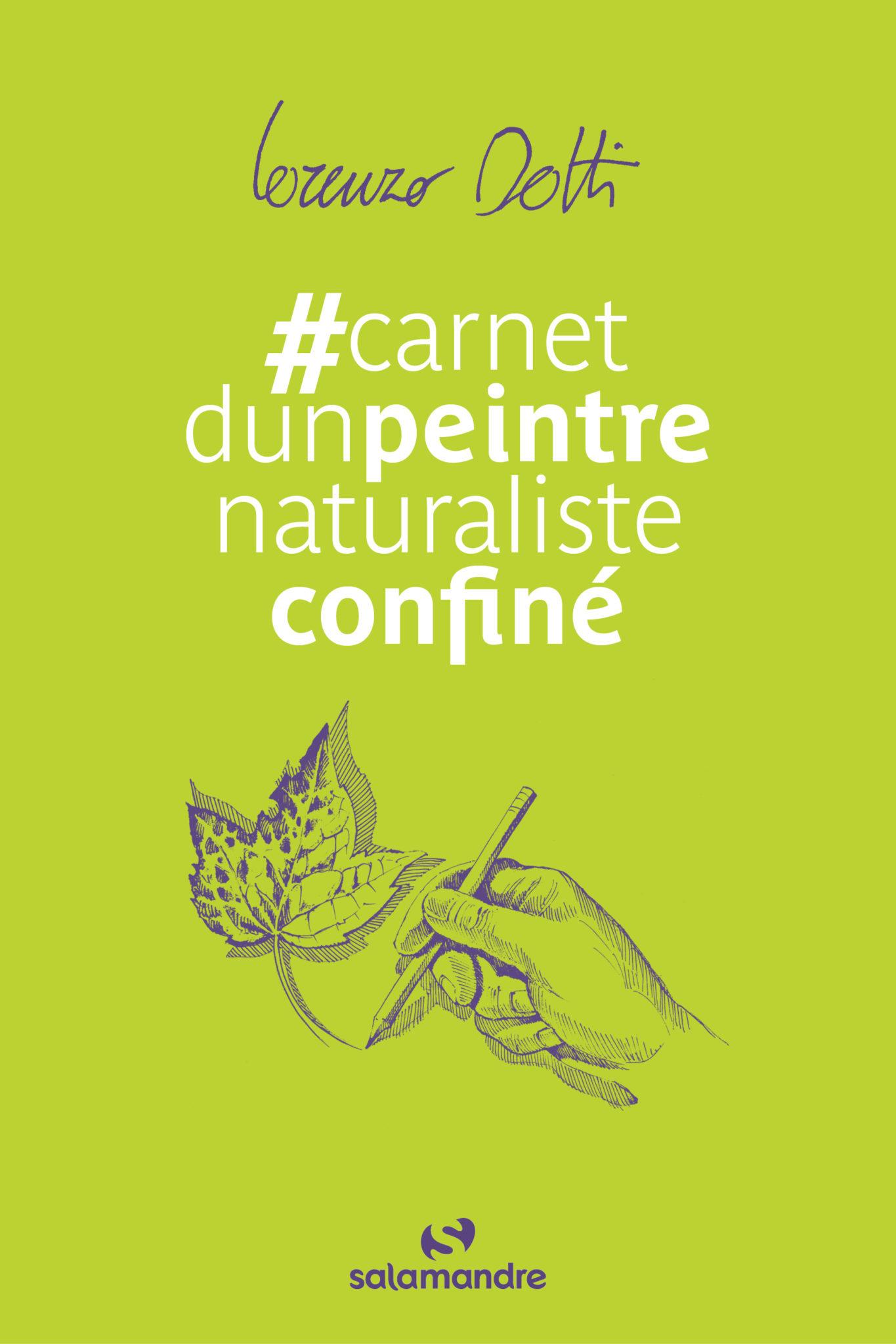 #carnet d'un peintre naturaliste confiné